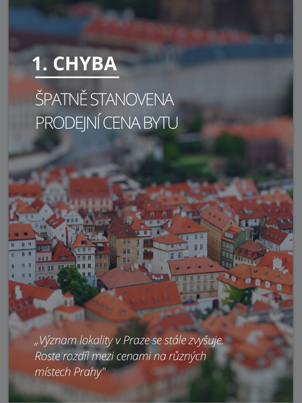E-book 7 chyb při prodeji bytu v Praze. David Majer, realitní specialista